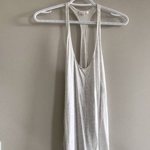 Cream Wilfred tank with side slit